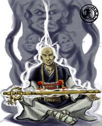 Oshiji the priest by emrad
