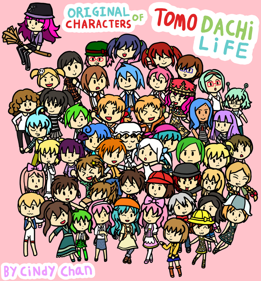 Original Characters of Tomodachi Life by CyaniDairySentinel