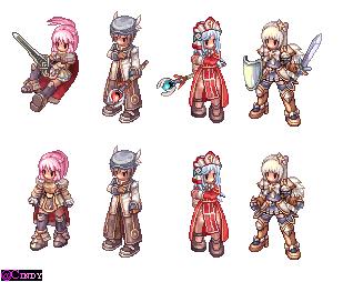 Lavian, Feofan, Serena and Shina by CyaniDairySentinel