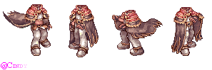 RO - High Wizard (Sprite Poses) by CyaniDairySentinel