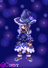 Yani the Blue Rose Witch (RO's Sprite Version) by CyaniDairySentinel