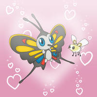Beautifly and Cutiefly by CyaniDairySentinel