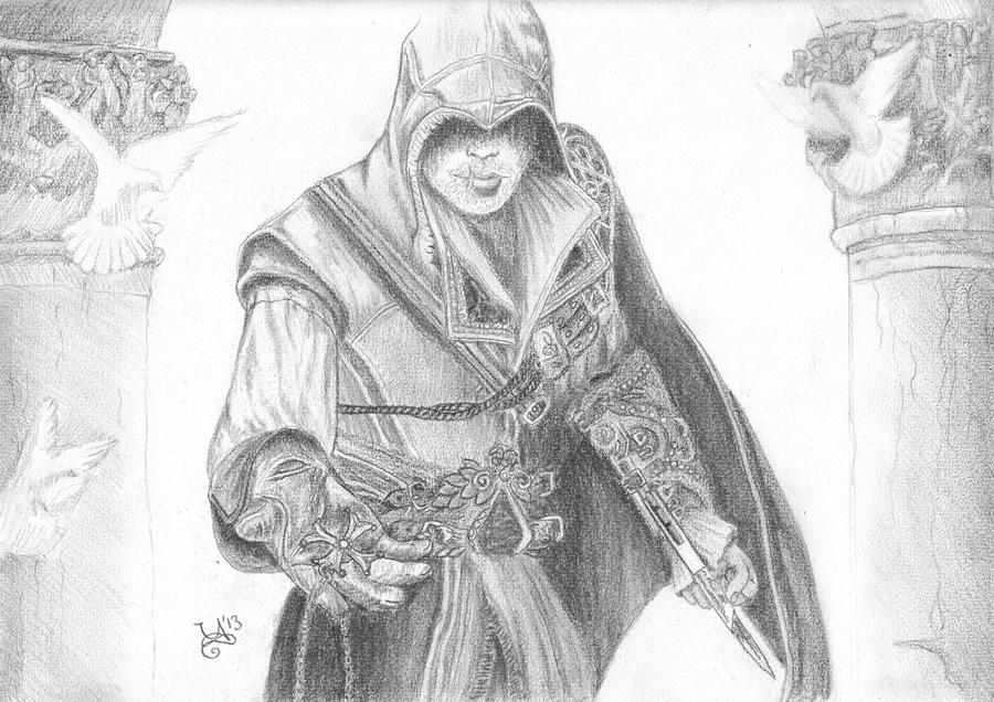 Ezio Auditore by SecretSunrise