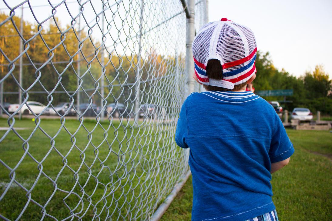 little baseball kid by SecretSunrise