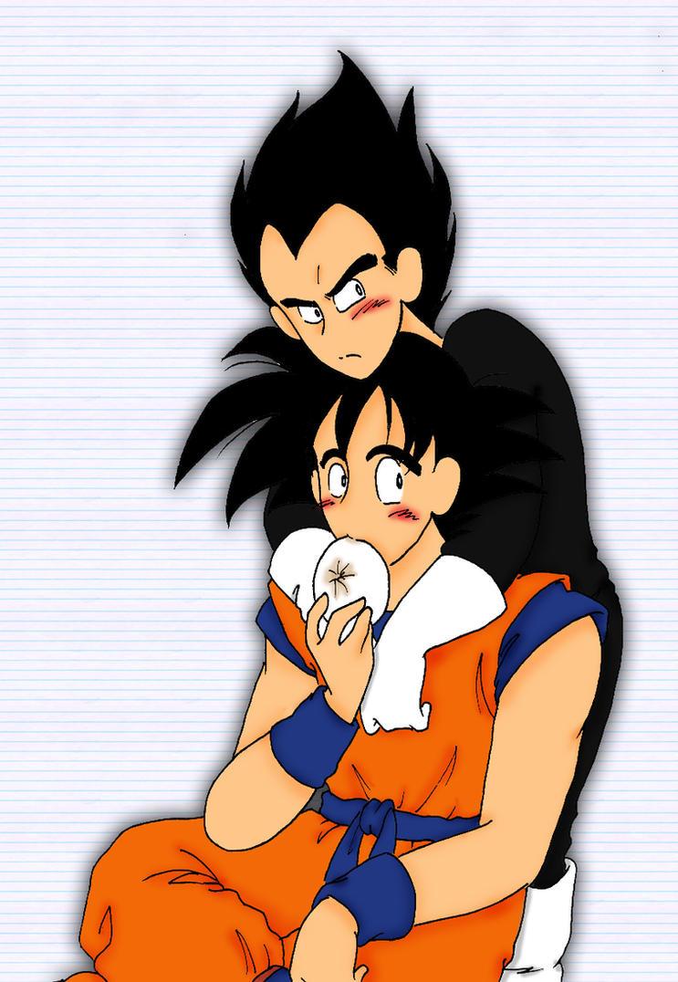 Vegeta x Goku by IllusionEvenstar on DeviantArt