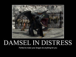 HTTYD-Damsel in Distress by IllusionEvenstar