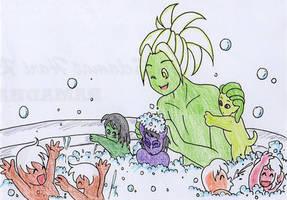 NTiF: Bubble Bath by IllusionEvenstar