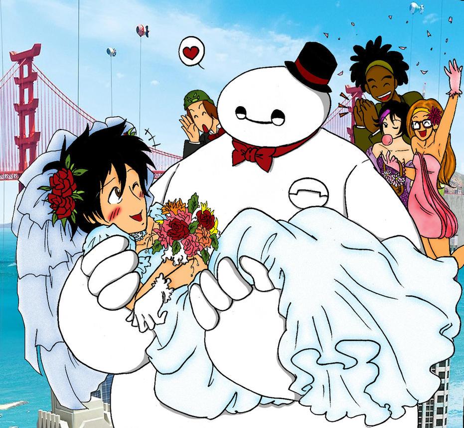 Big Hero Wedding by IllusionEvenstar