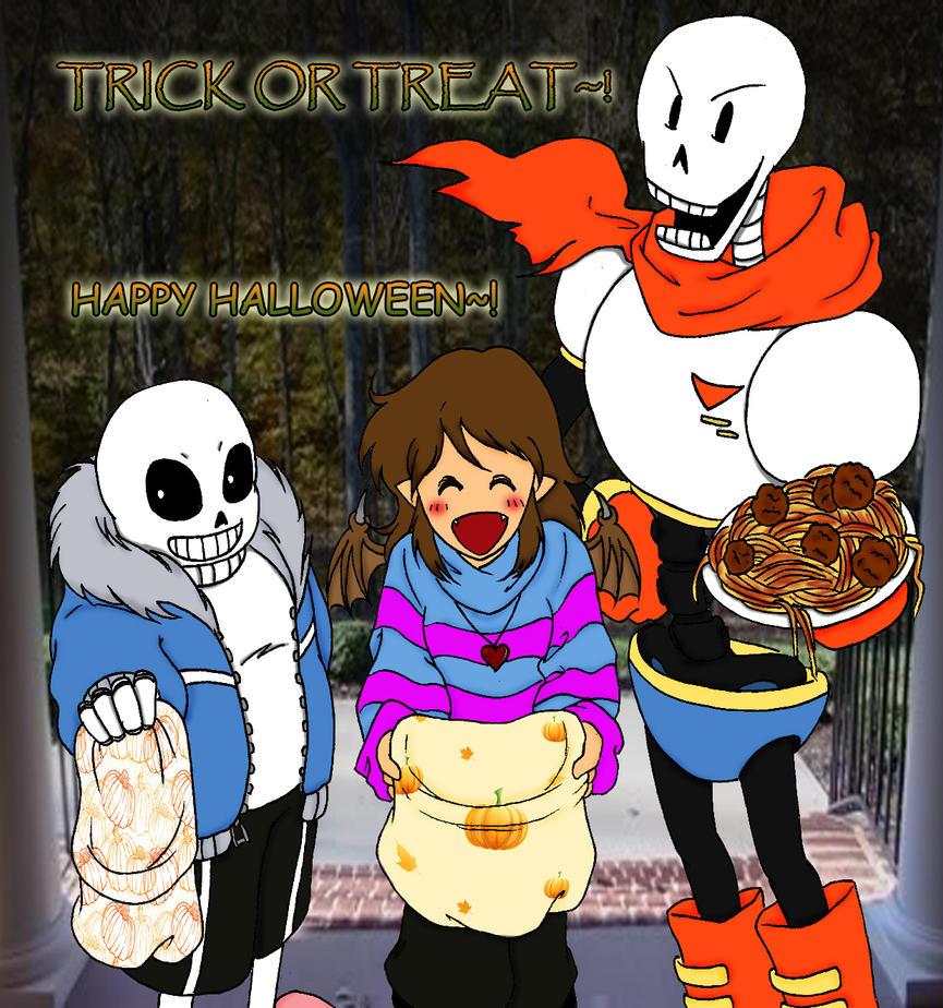 Happy Undertale Halloween 2016 by IllusionEvenstar on DeviantArt