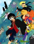Kingdom Hearts-HPxKP Crossover