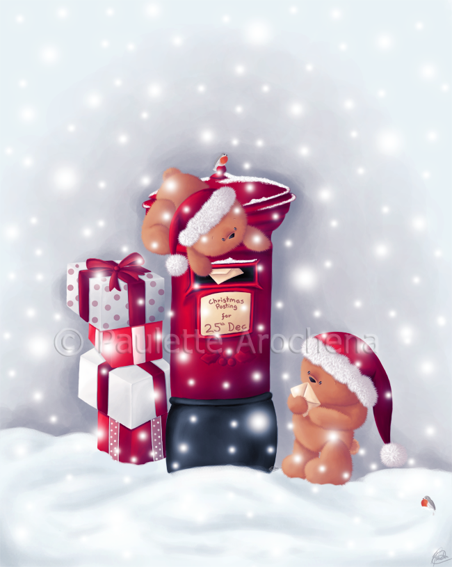 Christmas Postage by parochena