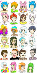 TAWOG: Characters... by uig