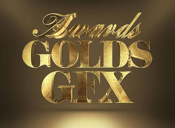 Free 3D Gold Text Effect by PsFiles