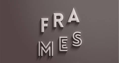 Frames text effect psd by PsFiles