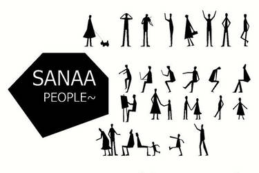 Sanna People Human Figure Photoshop Brushes PsFile by PsFiles