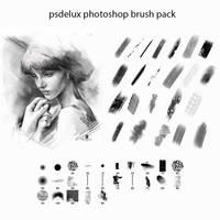 Digital Paint Photoshop Brush Pack