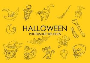 Free Halloween Icons Photoshop Brushes - 2019