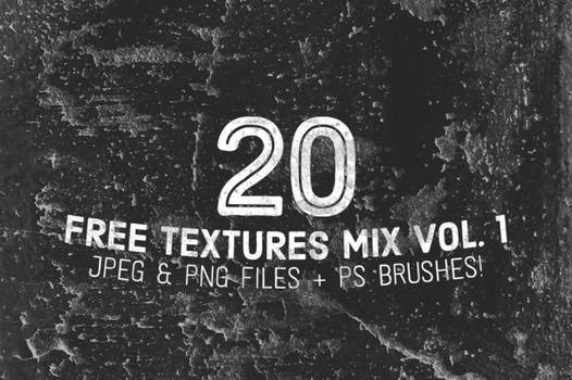 20 Free Textures and Ps Brushes