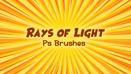 Rays of Light Ps 23 Brushes