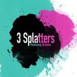 Free 3 Hi-Re Splatter Brushes