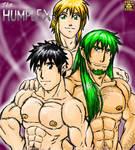 Oekaki gift art for Humplex