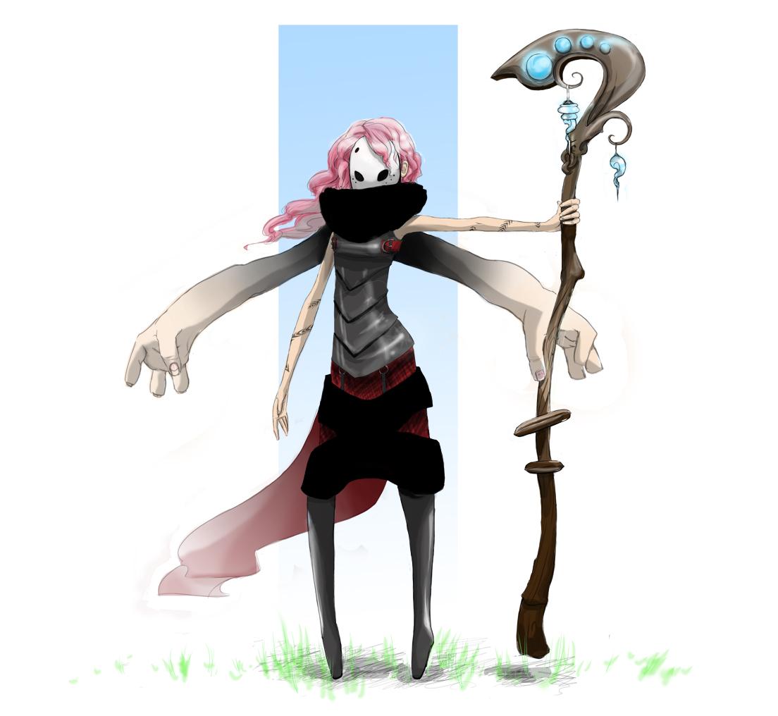 Sorceress by Axazel