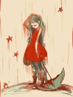 Arm of a Starfish - sketch by Axazel