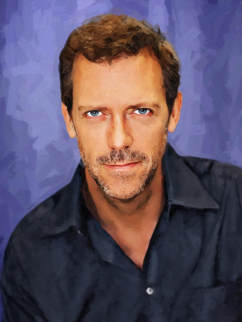 Hugh Laurie by AndyTka...
