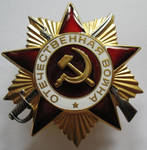 Award of the Patriotic War first-degree