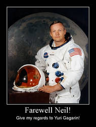 Neil Armstrong was gone