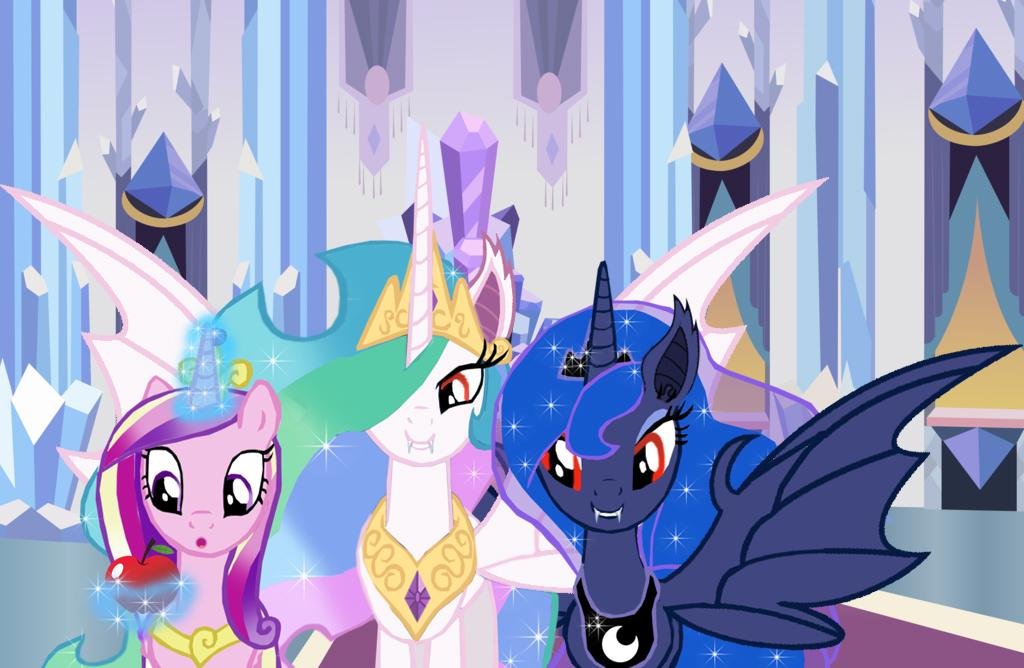 Princess Celestia And Princess Luna Bats! By ...