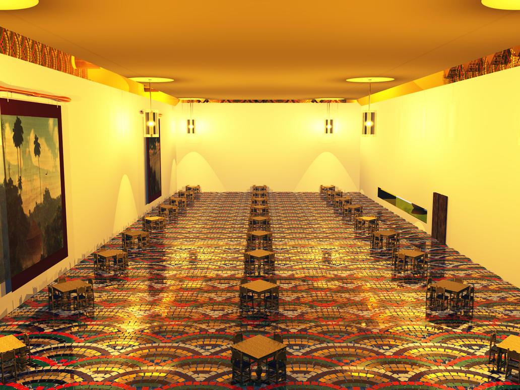 The Aes Sedai Dining Hall