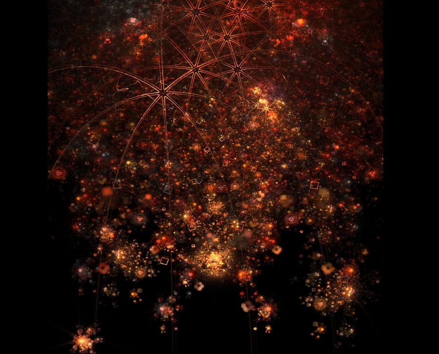 Pythagorean Fireworks by Lupus-deus-est