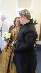 Our Wedding - just after signing!
