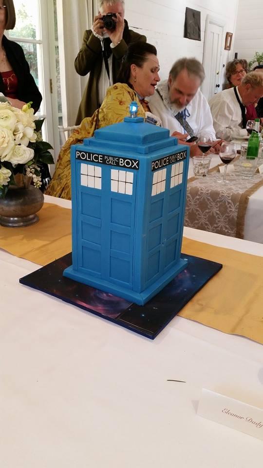 Our wedding cake by Lupus-deus-est