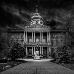 New Hampshire State House by robertkshiels