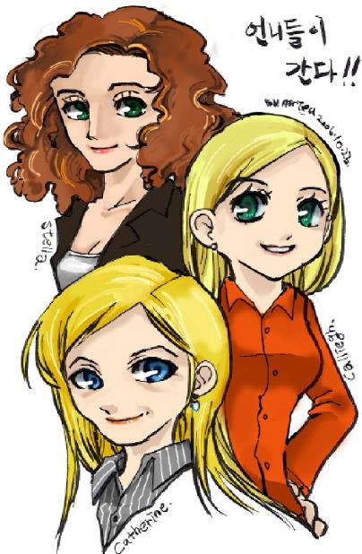 CSI ladies. by mrtea87