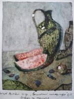 Oriental Still Life 6 by MONAROZ-Art
