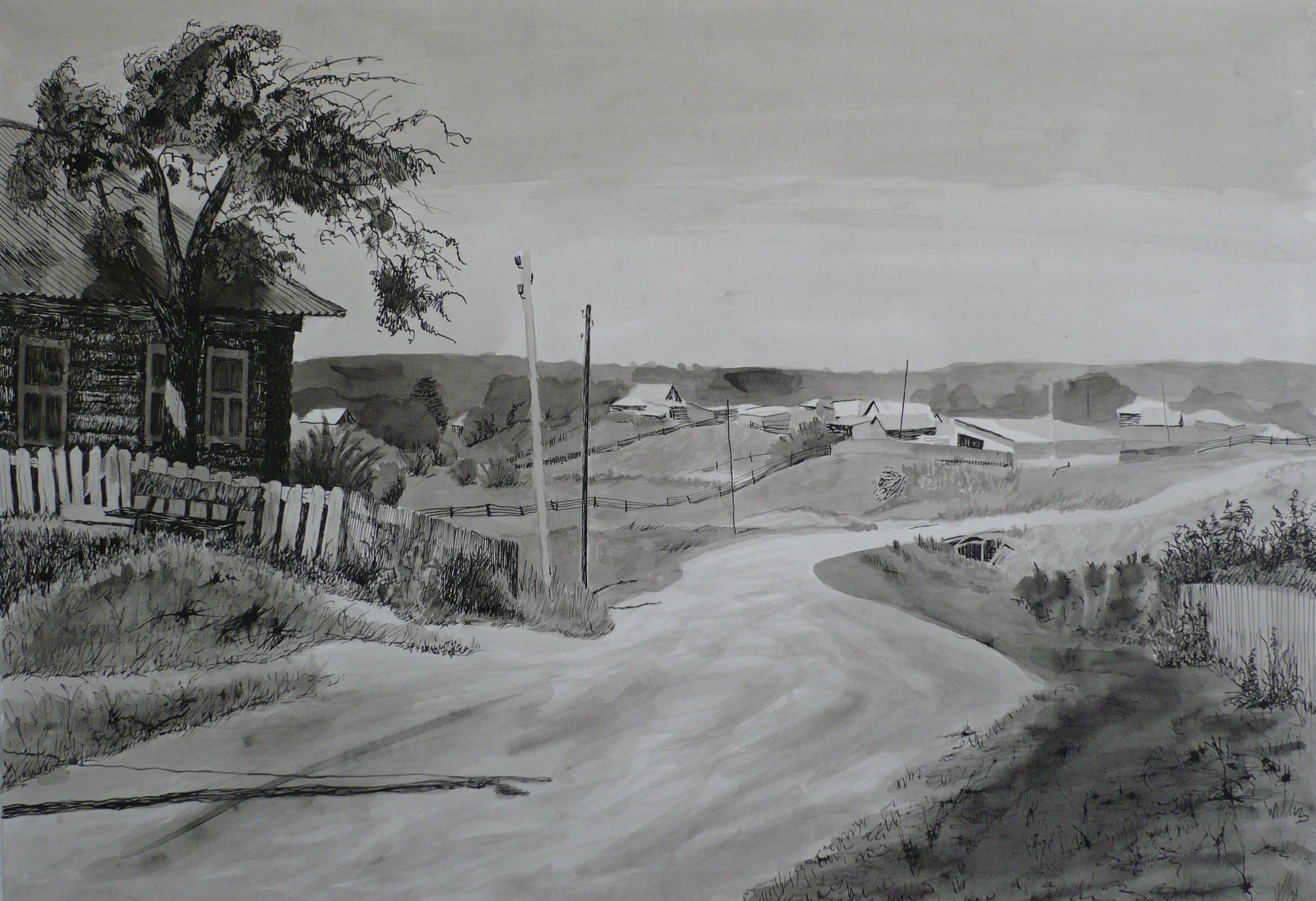 Ataksky landscape by MONAROZ-Art