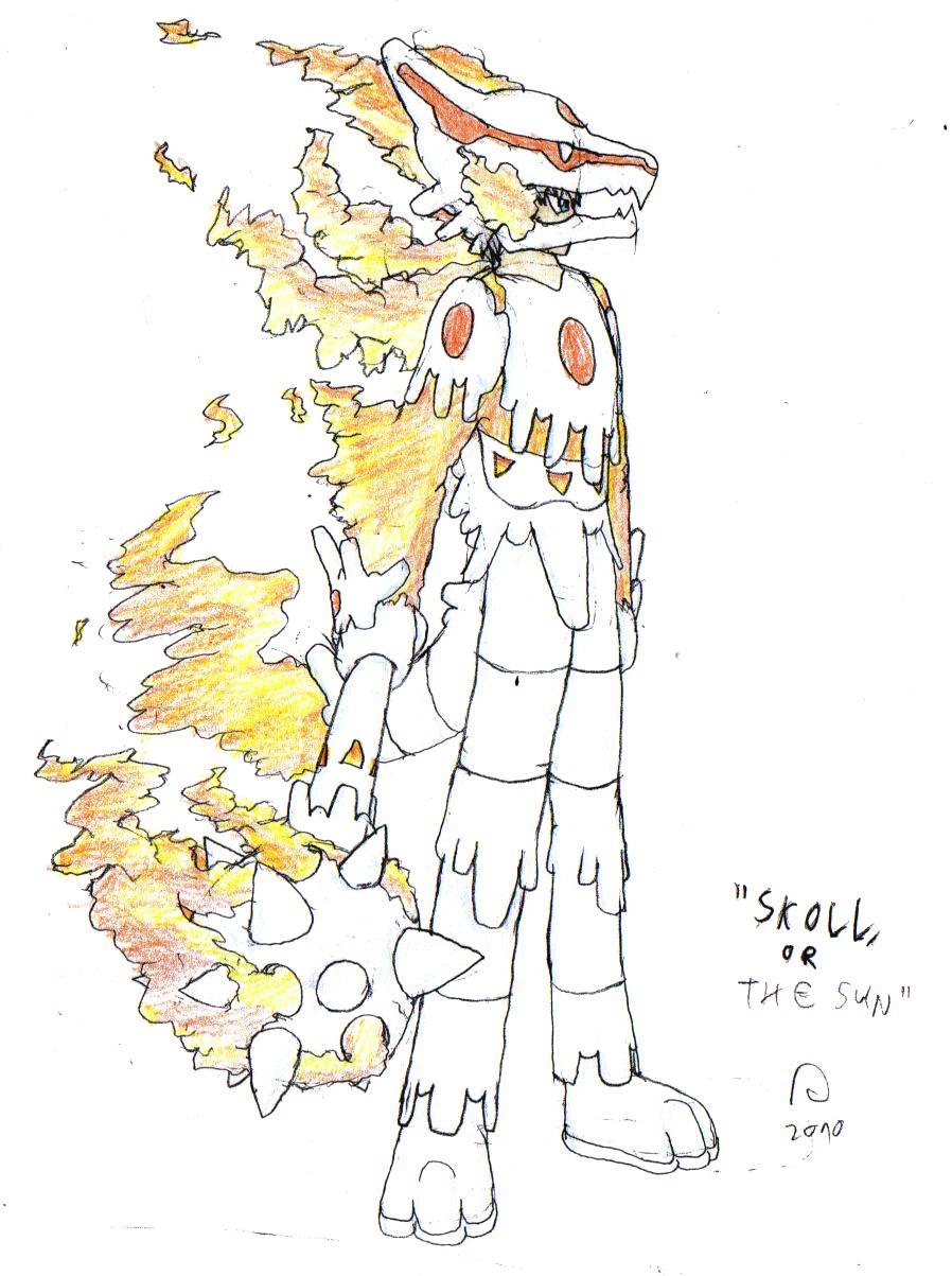 Avatars: Skoll by FawkesTheSkarmory