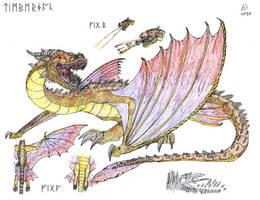 The Dragon Manual: Timberjack by FawkesTheSkarmory