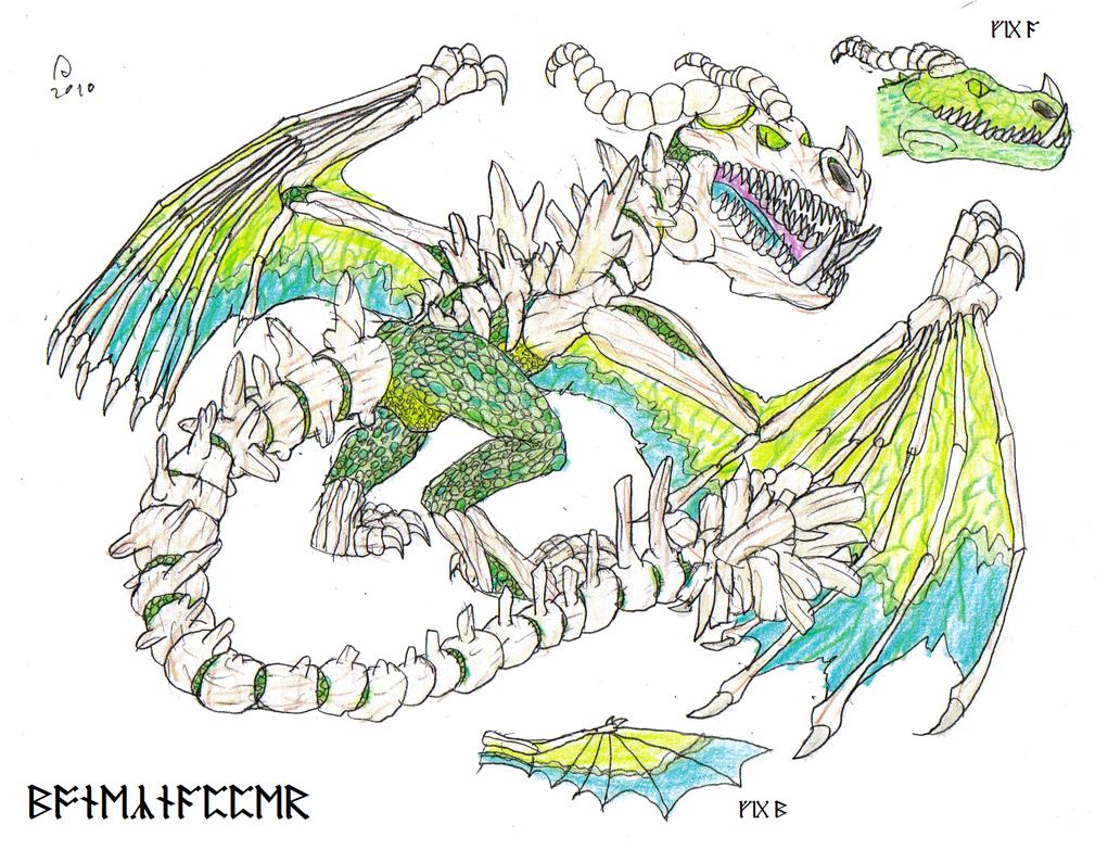 The Dragon Manual Boneknapper By FawkesTheSkarmory