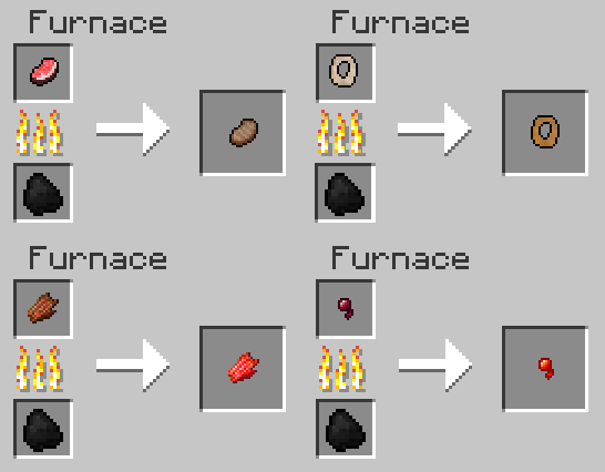 Minecraft recipe ideas new meat drops by fawkestheskarmory on minecraft recipe ideas new meat drops by fawkestheskarmory forumfinder Gallery