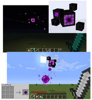 Minecraft Mob Idea - Enderstare by FawkesTheSkarmory