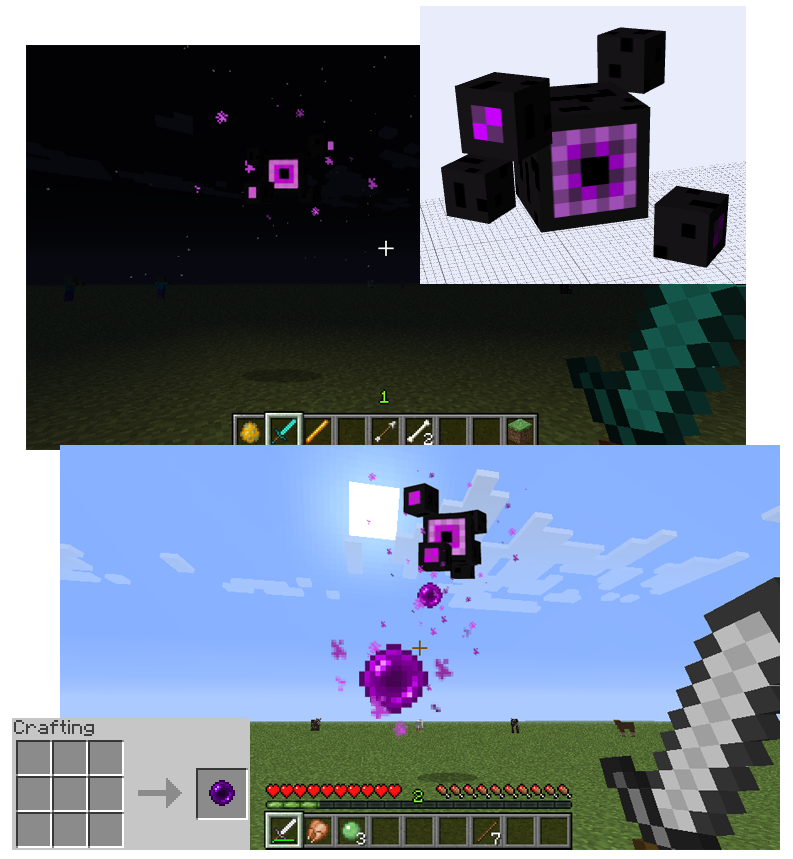 Minecraft Mob Idea Enderstare By FawkesTheSkarmory On DeviantArt - Minecraft teleport player to mob