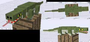 Mob Idea - Komodo Dragon
