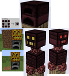 Block, Mob Idea - Netherbrick Furnace, Golem