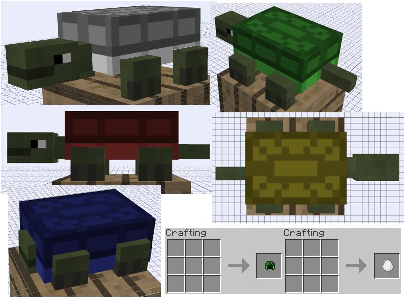 Mob Idea - Turtle