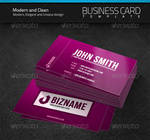 Modern and Clean Business Card