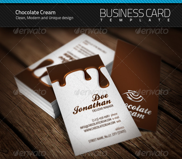 Chocolate business card by artnook on deviantart chocolate business card by artnook colourmoves